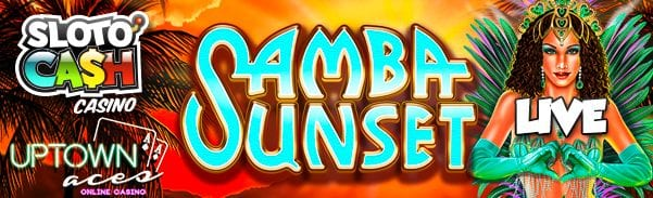 Real Time Gaming Casinos Release New Samba Sunset Vegas Slots To Play For Real Money