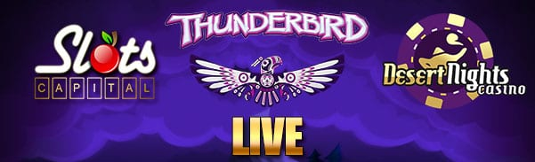 Thunderbird Slots Is LIVE At USA Download, Instant Play & Mobile Casinos