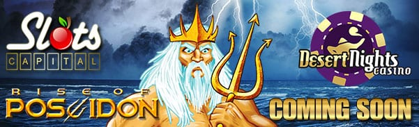 Rise of Poseidon Slots Brings Greek Gods of the Sea & Storms To Your Android & Apple IPhone