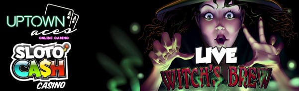 Instant Play Mobile Casinos Release All New Witch's Brew Slots Game