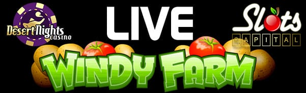Enjoy The Directionally Expanding Wilds Playing Rival's latest 5-Reel Slot Windy Farm