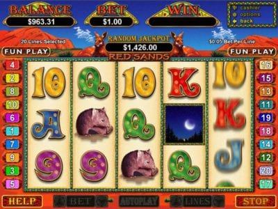 Red Sands Slot Review & Bonuses By Play Slots 4 Real Money