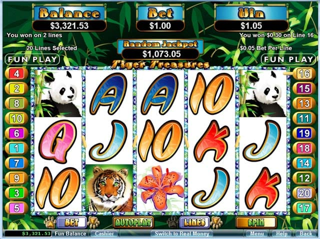 Oriental Tiger Slots - Play Online & Win Real Money