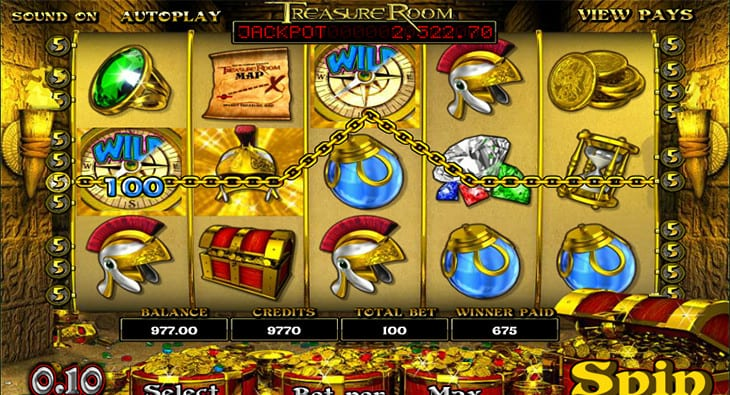 Treasure Room Slot Review & Bonuses | Play Gladiator Themed 3D Slots Online