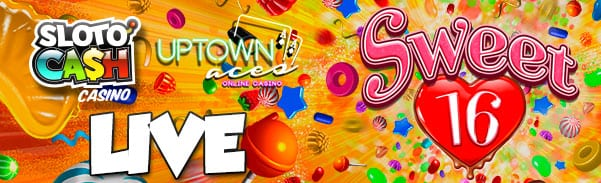 Real Time Gaming Casinos Launch The Sweet 16 Online Slot Machine