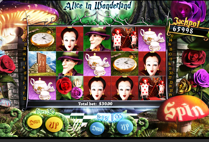 Alice in Wonderland Slots Free Play & Real Money Casinos