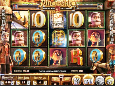 Spiele Pinocchio - Video Slots Online