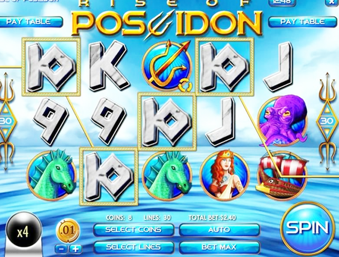 Poseidon Slots - Play Online Video Slot Games for Free