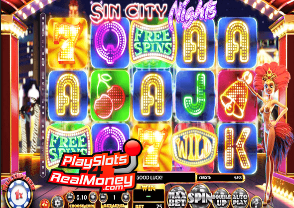 Sin City Nights Slot Machine Online ᐈ BetSoft™ Casino Slots