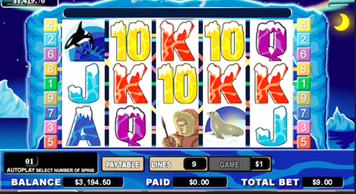 Northern Lights™ Slot Machine Game to Play Free in Cryptologics Online Casinos