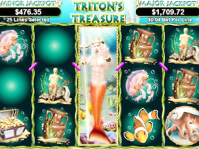 Tritons Treasure Slot