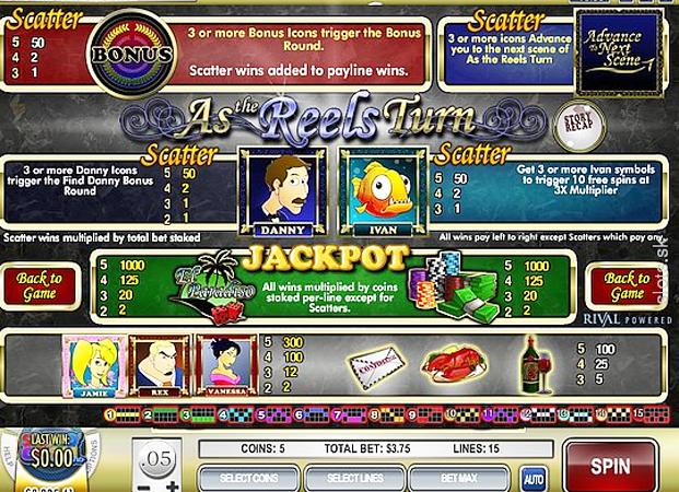 As The Reels Turn 2: The Gamble Slot - Play Online for Free