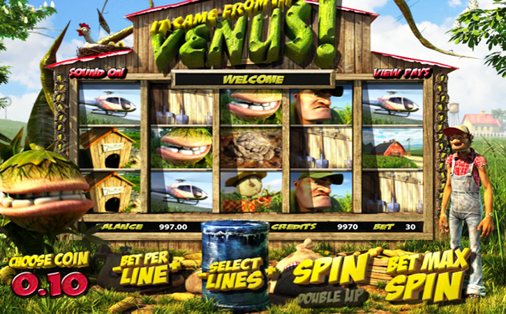 It Came From Venus Slot Machine Online ᐈ BetSoft™ Casino Slots