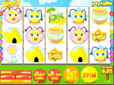 Honey Bees Slot Machine - Play Online Video Slots for Free