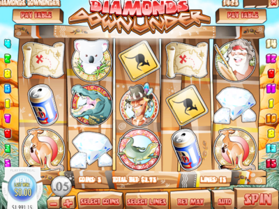 Diamonds Down Under Slot
