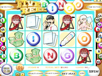 Five Reel Bingo Slot