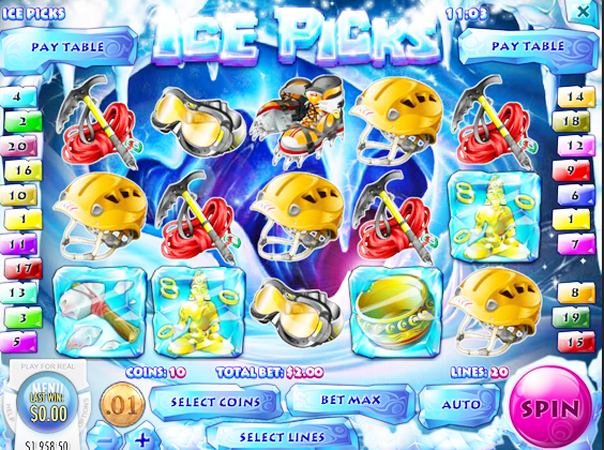 Play Ice Picks Slot Machine Free with No Download