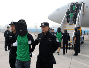 Philippines Finally Deports 55 Online Betting Criminals To China