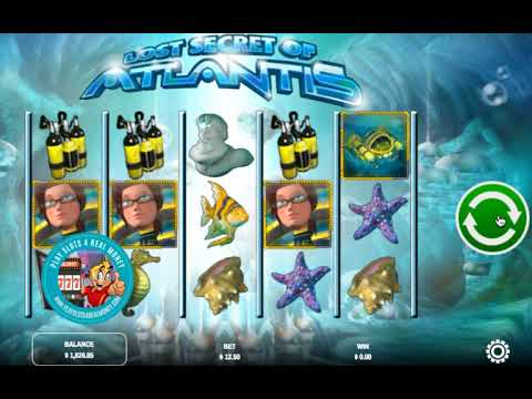 Play Lost Secret Of Atlantis Slot Machine Free With No Download