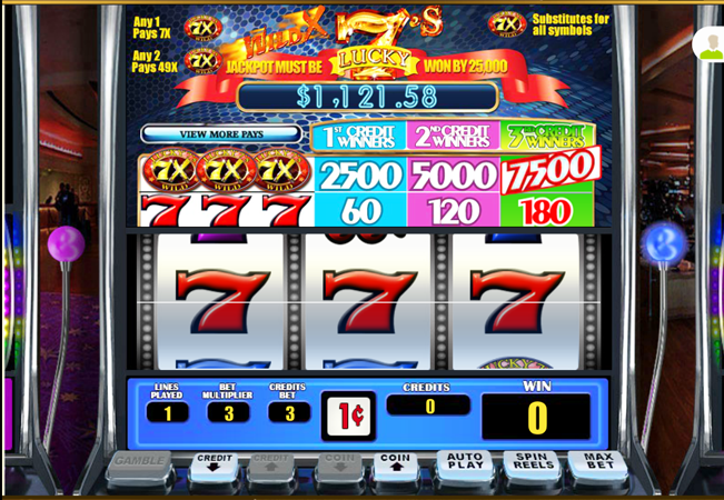 Free Lucky Seven Slot Games