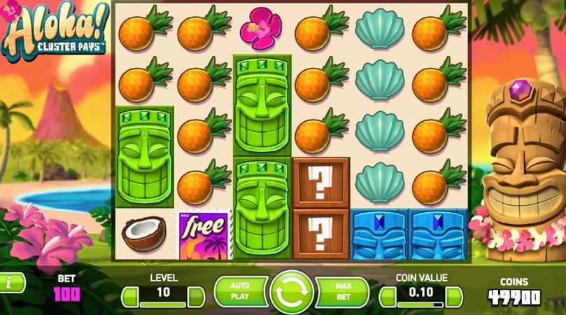 Spiele Aloha! Cluster Pays - Video Slots Online