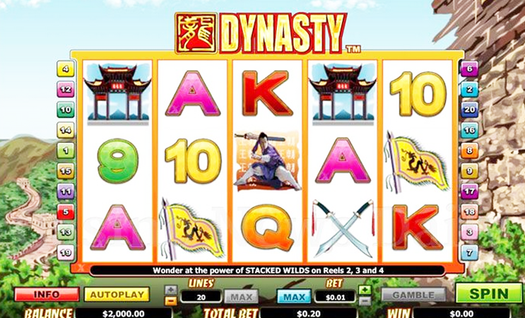 Dynasty Slot Machine - Play Now for Free or Real Money
