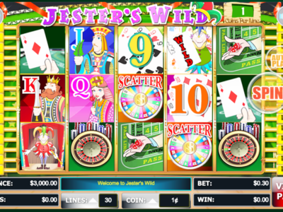 Jesters Wild Slot Machine - Play WGS Casino Games Online