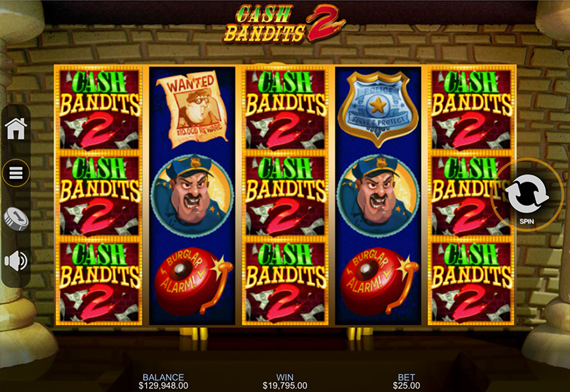 Realtime Gaming Casinos Release Cash Bandits 2 Slots