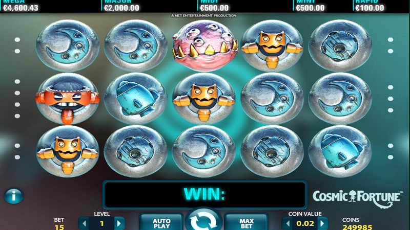Spiele Cosmic Fortune Slot Game - Video Slots Online