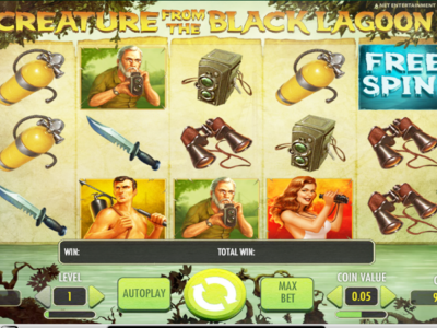 Creature From Black Lagoon Slots