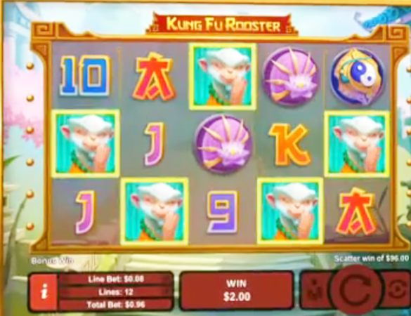 The Kung Fu Rooster Slots Is Live At Realtime Gaming Casinos