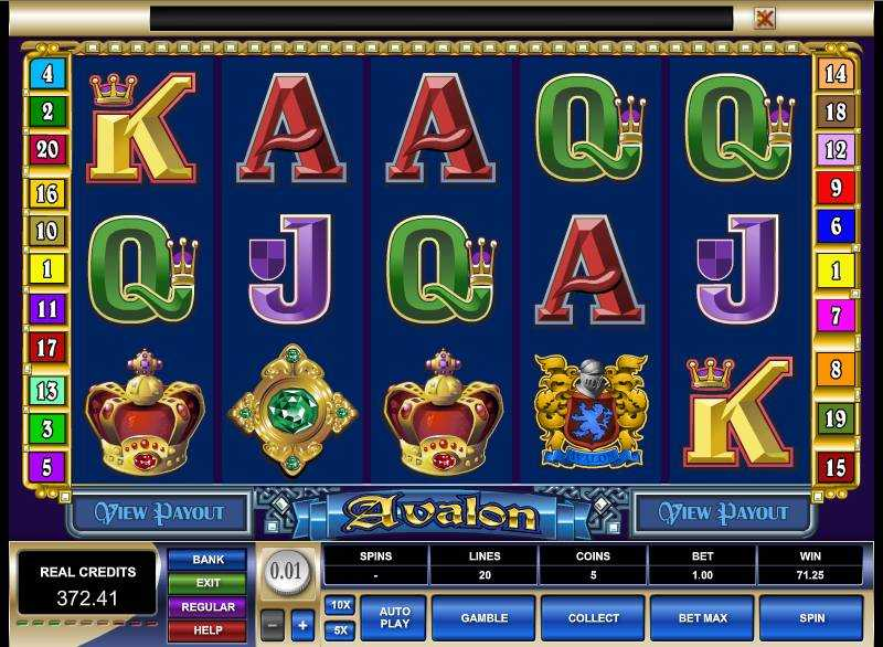 Avalon™ Slot Machine Game to Play Free in Microgamings Online Casinos