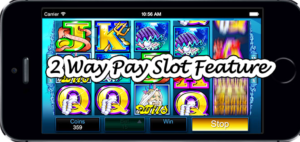 2 Way Pay Slot Feature