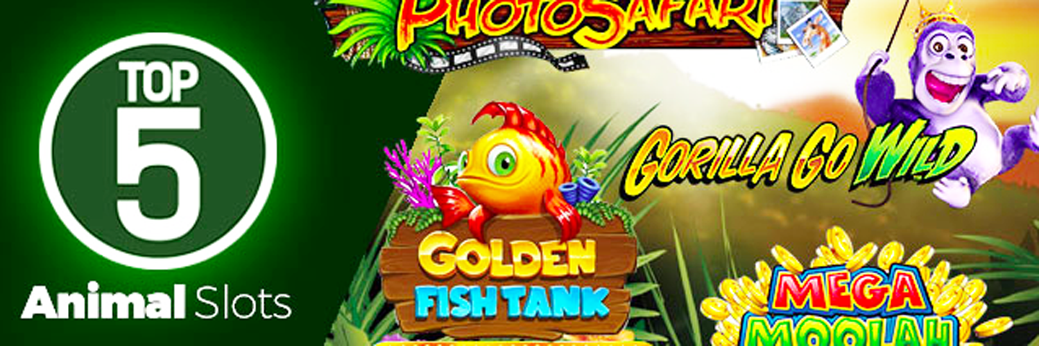 Animal Slots Online   Free Online Slot Machine Themes With Animals