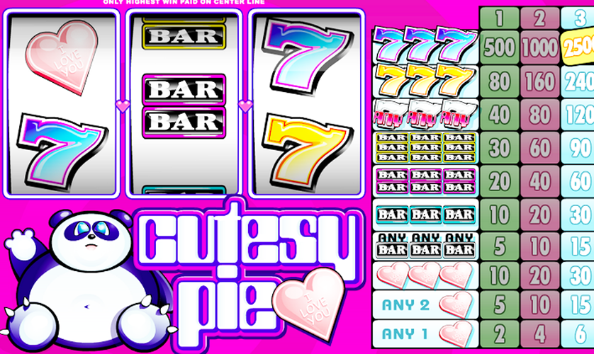 Cutesy Pie Slots - Play Microgaming Games for Fun Online
