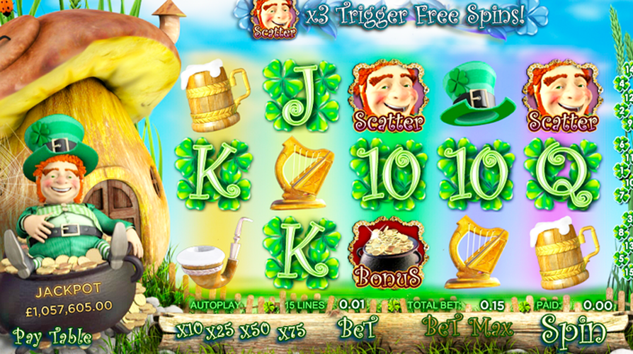 Irish Themed Slot Machines| Best Free Irish Slots Online