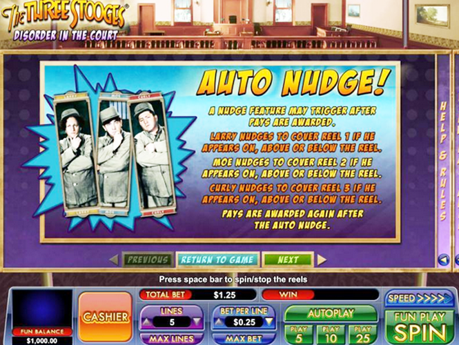 Fruit Slot Machine Nudge Feature | Fruit Slot Machines & Games With Nudges