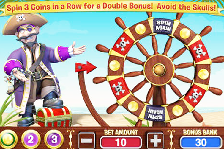 Captain Jack Slots - Available Online for Free or Real