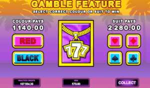 Slot Machines Gamble Feature