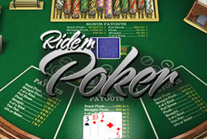 Ride'm Poker Rules