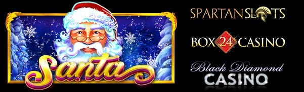 Get On Your Sled With Santa While You Play His New Slot Machine