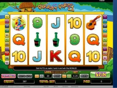 Party Parrot Slot Review | Free Online Casino Games