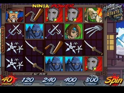 Ninja Power Slots Review | Play Free Vegas Slot Machines