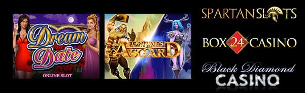 Microgaming Casinos | Fortunes of Asgard & Dream Date Slot Machines