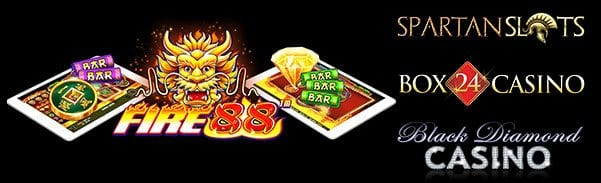 Spartan Slots Casino |Fire 88 Slot Machine |Free Spins No Deposit Bonuses