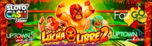 Bet Mexican Wrestling | Play The Lucha Libre 2 Slot Machine
