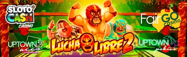 Bet Mexican Wrestling | Play The Lucha Libre 2 Slot Machine Free
