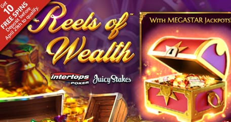 BetSoft Casinos Release New Reels Of Wealth Slot Machine |No Deposit Casino Bonuses