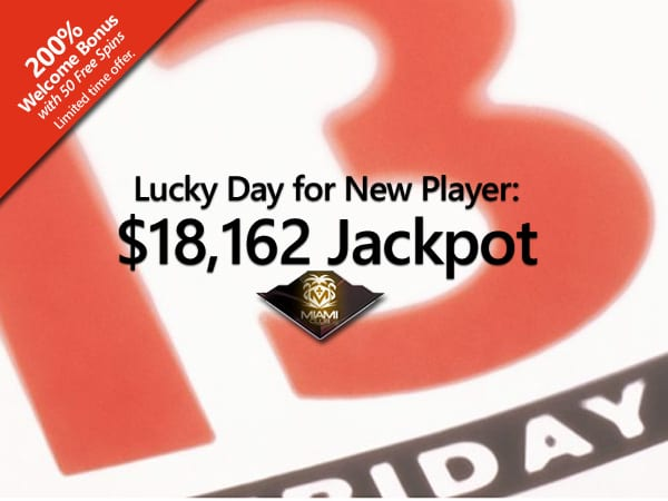 Lucky Online Slot Machine Player Wins $18K On Friday The 13th