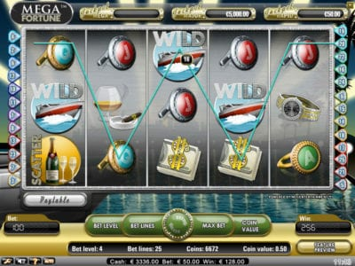 Mega Fortune Progressive Jackpot Slots Game Review